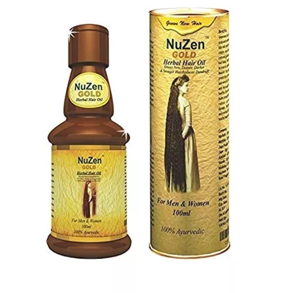 Масло от выпадения волос NuZen Gold
